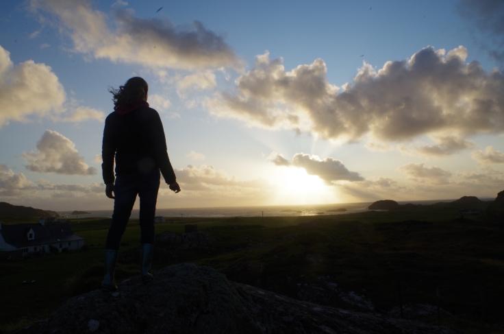 'Watching the Light' Iona, Scotland